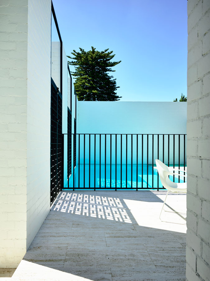 Overend Constructions, Belmont House, courtyard, pool
