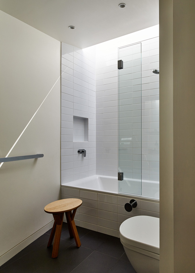 Overend Constructions, Bower, bathroom, Andrew Simpson Architects