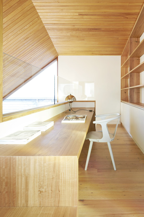 Overend Constructions, Fenwick, JFA, study, natural timber joinery