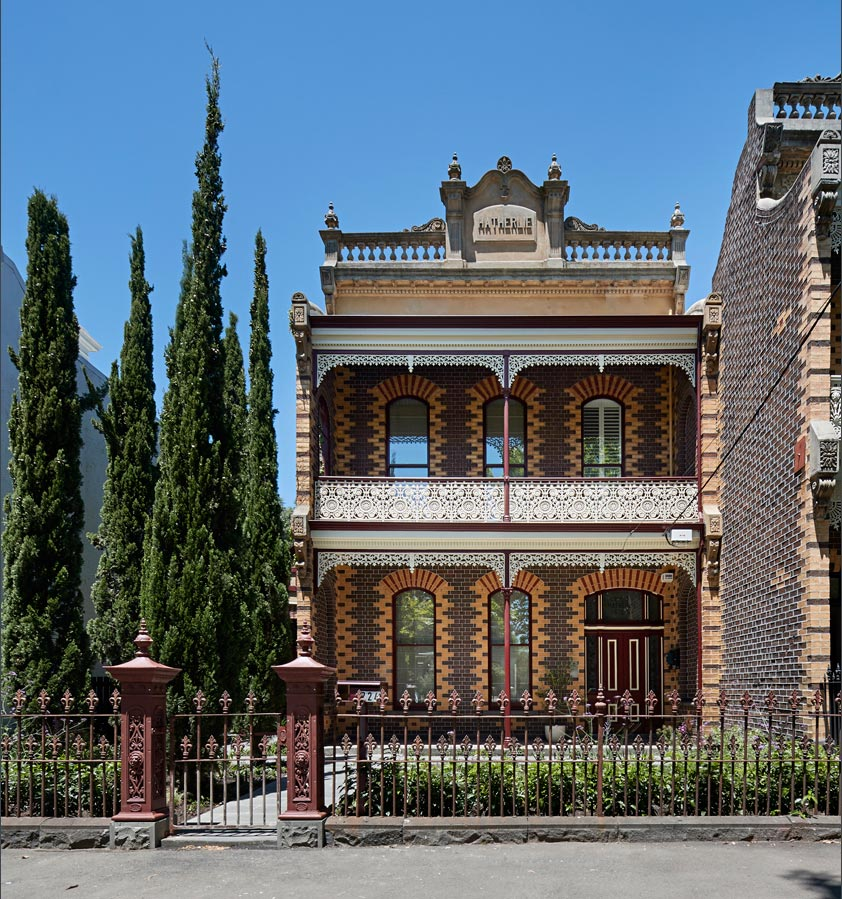 Overend Constructions, Hatherlie,heritage front facade, brick, pointing, Andrew Simpson Architects