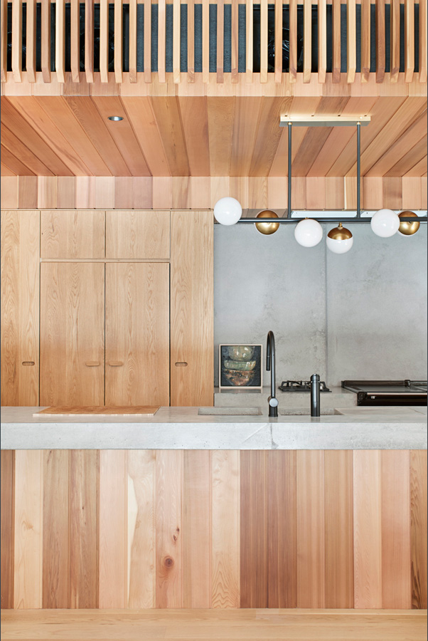 Overend Constructions, Hatherlie, kitchen, timber joinery, Andrew Simpson Architects