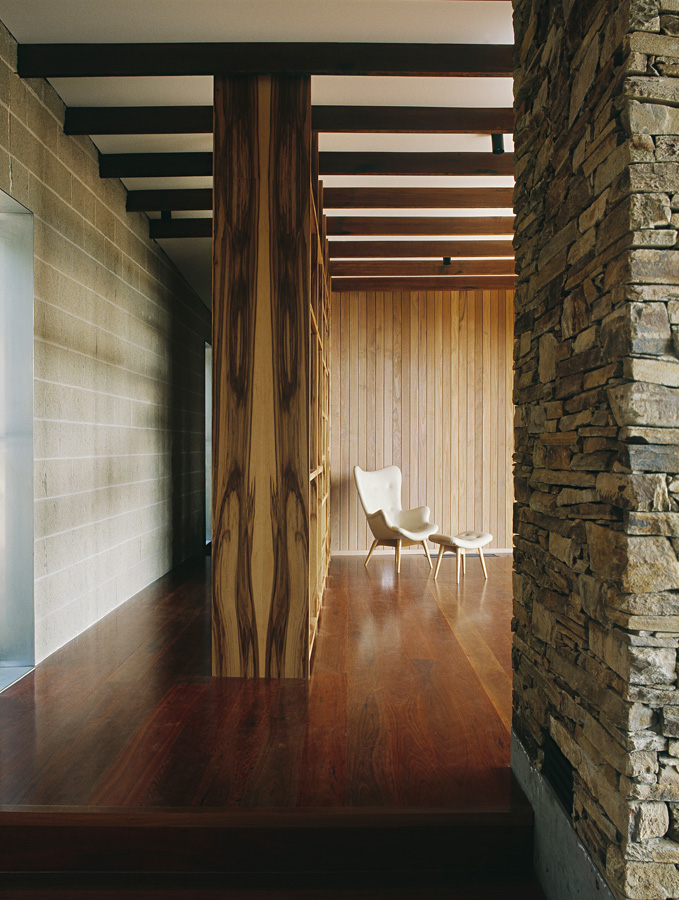 Great Wall House, stone cement timber feature walls, Overend Constructions, BKK, architectural, design, joinery